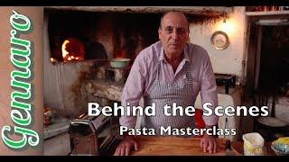 How to Shape Pasta | Behind the Scenes | Gennaro Contaldo