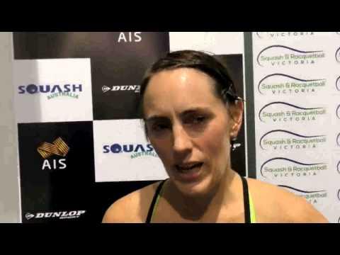 Australian squash player Rachael Grinham