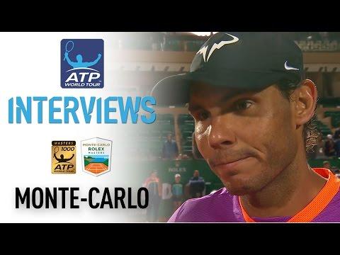 Nadal Discusses Schwartzman Battle At Monte-Carlo 2017