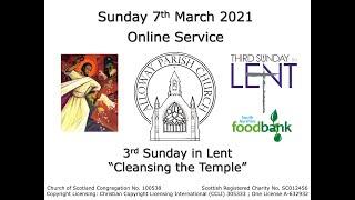 Alloway Parish Church Online Service - Sunday, 7th March 2021