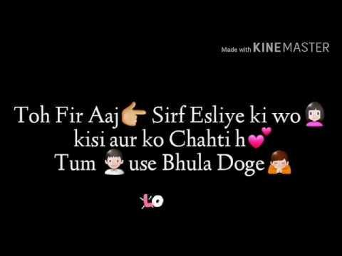 Apne Pyar ko itni Aasani Se Kisi Aur ka Mat Hone Do yar|Mohbbatein movie SRK| Whatsapp Dialogue vide
