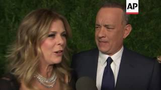 Hanks honored by MOMA