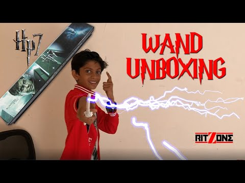 Harry Potter Voldemort's Wand Unboxing (HP7) | Ritzone