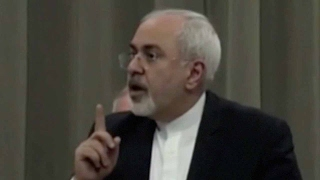 """Iranian FM says Iran """"unmoved"""" by US threats"""