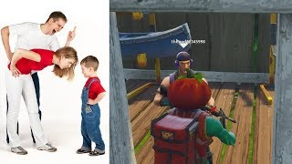 Trolling Most OUT OF CONTROL RAGING Kid In FORTNITE Gets In Trouble By Parents - Forcé de s'excuser