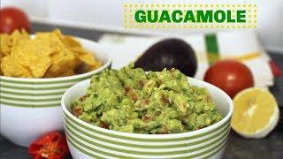 Fresh Homemade Guacamole | Quick and Easy Guacamole Recipe | Yummieliciouz Food Recipes