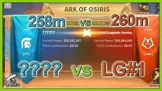 Ark of Osiris LIVE: K196 606m LG#1 vs ESoA - Rise of Civilization LIVE