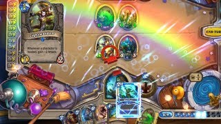 [Hearthstone] Lightwarden OTK Shaman is insanely fun! 54dmg with a 1cost minion!