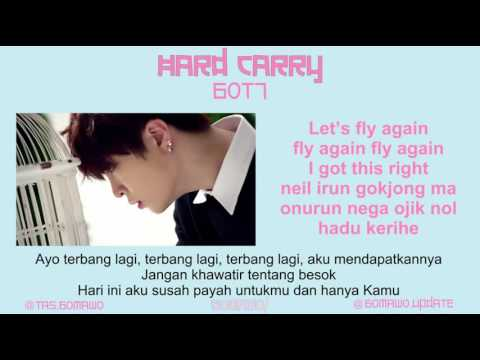 GOT7 - HARD CARRY [MV, EASY LYRIC, LIRIK INDONESIA]