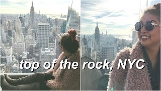 TOP OF THE ROCK OBSERVATION DECK ♡ NYC