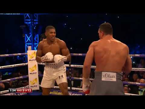 Round of 2017? Anthony Joshua vs Wladimir Klitschko  Round 5
