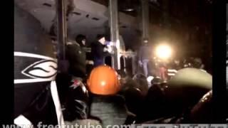 Штурм Украинского дома в Киеве Евромайдан 26 января 2014 года онлайн(, 2014-01-25T23:21:17.000Z)