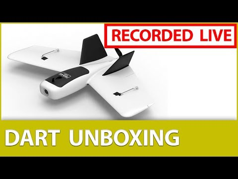 [LIVE] 📦Unboxing the ZOHD Dart FPV Flying Wing