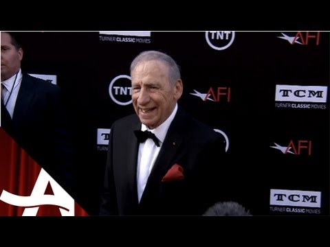 Mel Brooks AFI Tribute On the Red Carpet w/ Meg Grant | June 2013 | Movies For Grownups