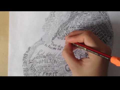 Drawing Hamilton | Time Lapse