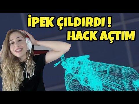 HACK AÇTIM ! // İPEK ÇILDIRDI