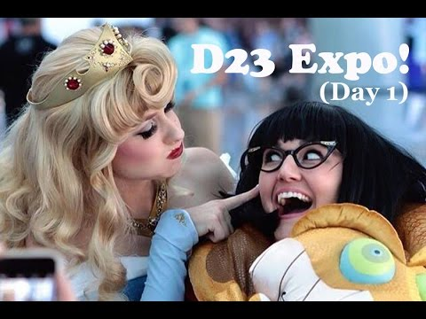 Download Youtube: Come with me to Disney's D23 Expo! (Day 1)