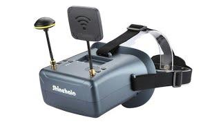 $48 Shinehalo LS-800D FPV 5.8 DVR Goggles Review