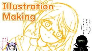 🔴[Nicca]Illustration Making