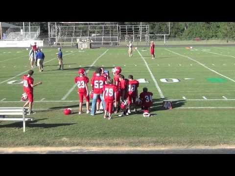 Simpson County Academy  7th Grade Football 9-8-11