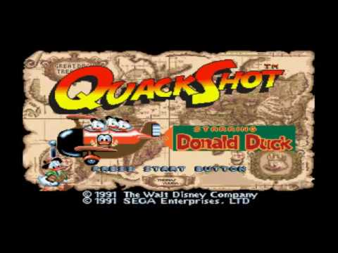 QuackShot starring Donald Duck - Intro