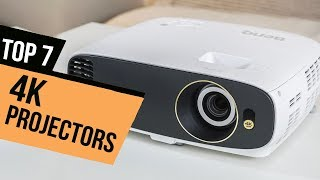 7 Best 4K Projectors 2018 Reviews