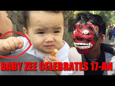 Baby Zee 17an Balap Krupuk (The Krupuk Competition)