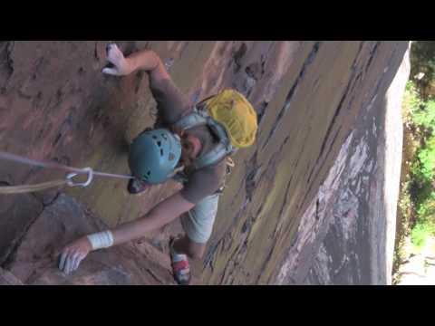 Ben McCabe & Mark Smiley rock climbing Tunnel Vision & Dark Shadows
