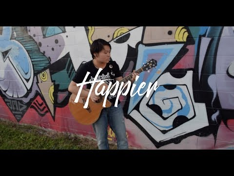 Happier   Marshmello ft Bastille Fingerstyle Guitar