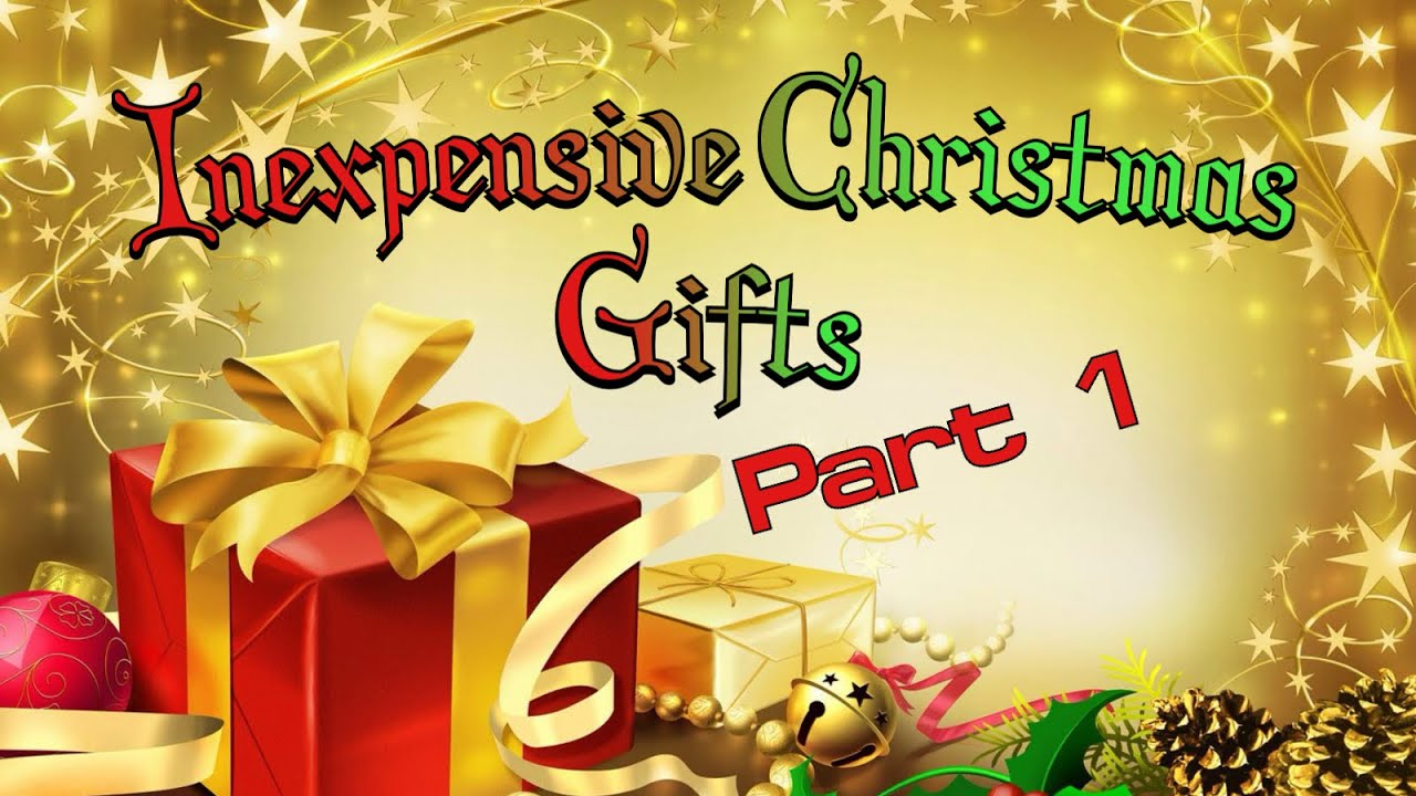 inexpensive christmas gift ideas for neighbors or co workers part 1 youtube