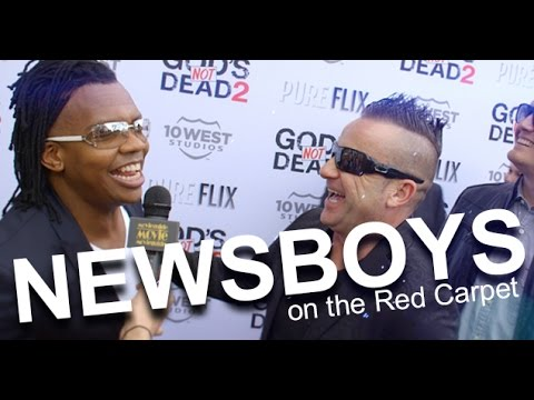 GOD'S NOT DEAD 2 Red Carpet, feat: Newsboys