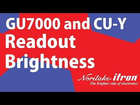 Noritake VFD: Readout Brightness Demo - Scales