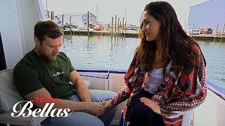 a concerned brie takes bryan on a boat ride to see manatees total bellas oct 19 2016