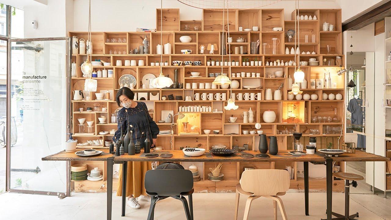 自分だけの逸品を探せる、パリの隠れ家的セレクトショップでお買い物/食器から洋服まで〜購入品紹介/暮らしvlog