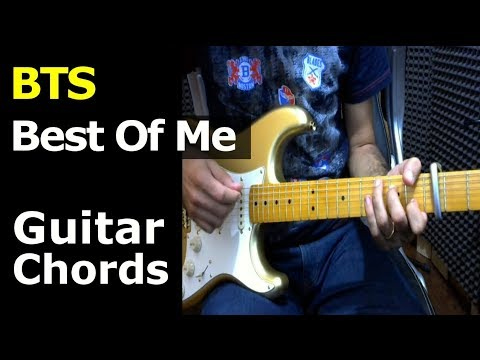 HOW TO PLAY - BTS - Best Of Me - Guitar Chords - YouTube
