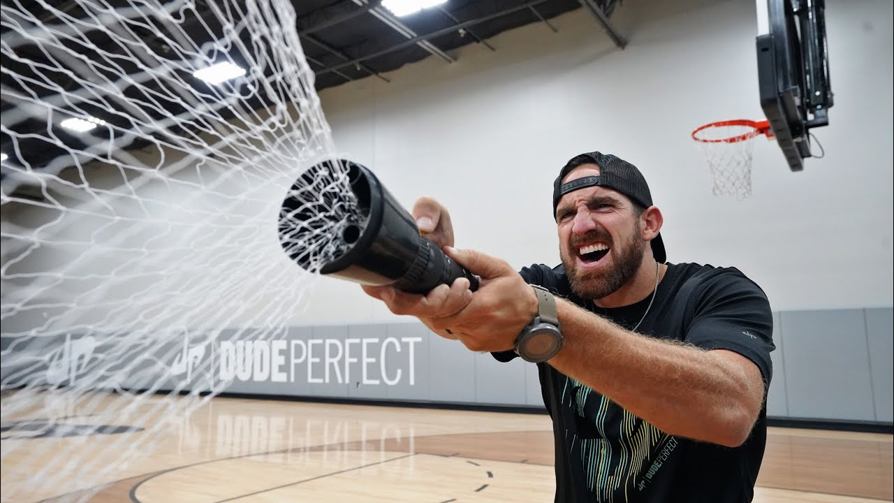 The Net Gun | Overtime 4 | Dude Perfect