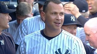 A-Rod blasts a solo homer for hit No. 3,000