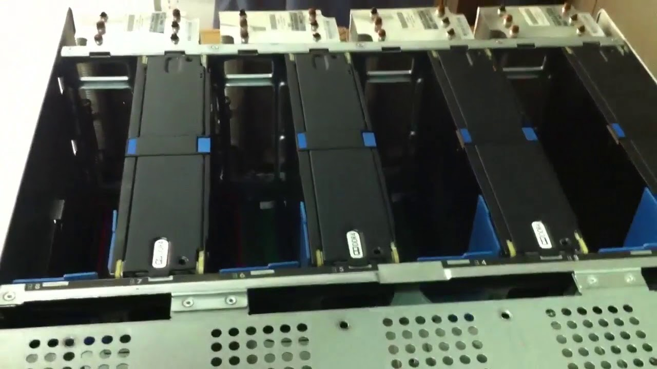 HP ProLiant DL580 Gen9 Server Remove Replace Memory cartridge