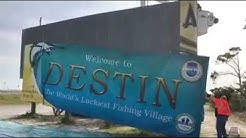 """""""Welcome to Destin"""" sign  replaced - video by City of Destin"""