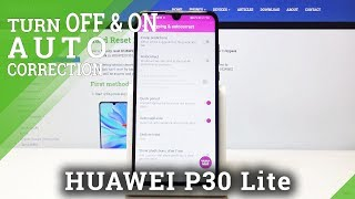 How to Activate SwiftKey Autocorrection on Huawei P30 Lite