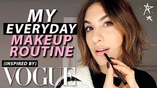 EVERYDAY Makeup Routine: GRWM VOGUE INSPIRED! | Jamie Paige