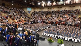 VMI Graduation Ceremony 2017