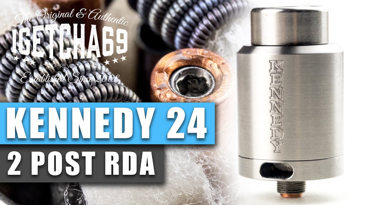 Kennedy RDA By Kennedy Enterprises | UK ECIG STORE - YouTube