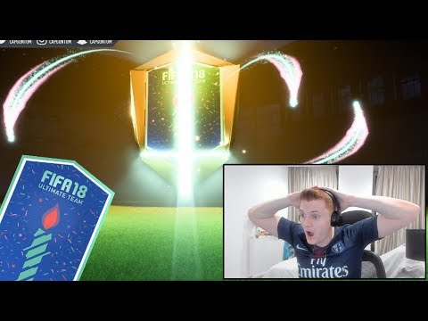 INSANE 9 FUT BIRTHDAY CARDS IN 1 PACK OPENING!!! FIFA 18 Ultimate Team