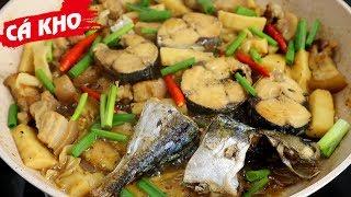 Cách làm CÁ NỤC KHO MĂNG, cách kho cá không tanh - Món Ăn Ngon