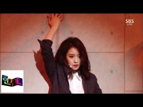 [지연 Jiyeon] 1분 1초 @인기가요 Inkigayo 140525