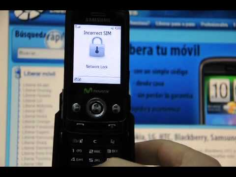 Liberar Samsung J800 Luxe, desbloquear Samsung J800 de Movistar - Movical.Net