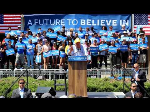 Bernie Sanders Speech at Solano Community College in Fairfield California | June 3 2016