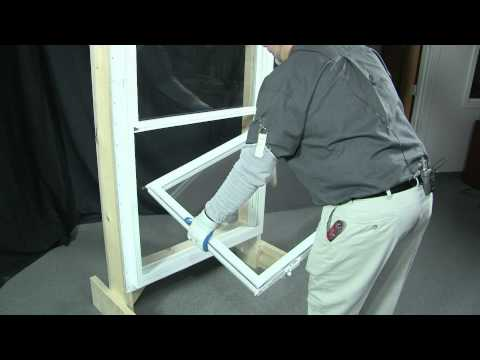 How to remove and replace a bottom & top sash