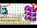 How to Get Unlimited Master Balls & X-Mas Trading in Pokemon Sword and Shield